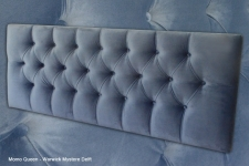 Deep button Momo headboard