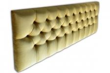 Momo Super King Headboard, Mystere Gold