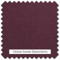Global suede - Blackcherry
