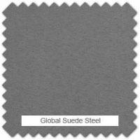 Global suede - Steel